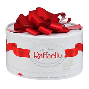 Подарок на новый год - Набор конфет «торт Рафаэлло» 200 гр