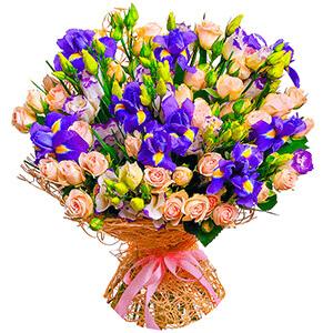 Дизайнерский букет +30% цветов с доставкой в Ивантеевке