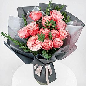 Бизнес-букет +30% цветов с доставкой в Ивантеевке