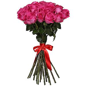 Букет из 39 розовых роз - премиум
